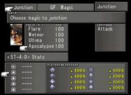 Junction Apocalypse from FFVIII Remastered