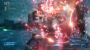 Pride and Joy Prototype grapples Aerith from FFVII Remake