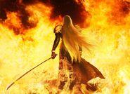 Sephiroth Flames FFVIIR