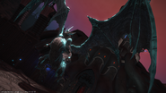 Bahamut in Cids memory from FFXIV