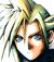 Final Fantasy VII Nibelheim flashback portrait.