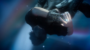 Noctis absorbs the power of the Crystal in FFXV