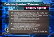 Trepie 1 on Garden Message Board from FFVIII R
