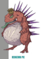Hedgehog Pie artwork for FFVII Remake