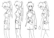 Lisa concept lines 4 for Final Fantasy Unlimited