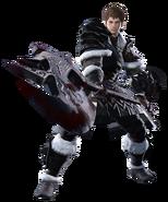 Ardbert from Final Fantasy XIV render
