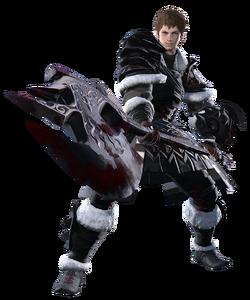 Ardbert, a notable Warrior from Final Fantasy XIV.