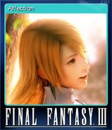 FFIII Steam Card Affection
