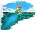 FFMQ Mac's Ship Artwork