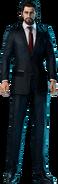 Reeve Tuesti from Final Fantasy VII Remake render