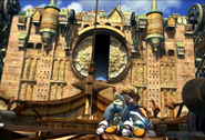 South Gate opens from FFIX Remastered