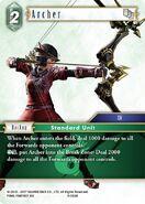 Archer 4-056R from FFTCG Opus