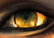 Edeas eye closeup from FFVIII Remastered