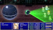 FF4PSP Enemy Ability Laser Barrage
