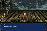 FFVI PC Kefka Battle Cutscene Sealed Gate Open