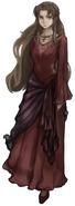 Ifalna from Final Fantasy VII Remake artwork