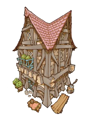 Final Fantasy Crystal Chronicles: My Life as a King buildings