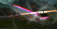 RDM using Enchanted Moulinet from FFXIV