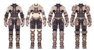 Ebon Gear FFXI Art 4