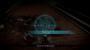 FFT-0 HD Game Over