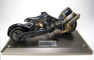 Fenrir motorycle Mechanical Arts figure from FFVII Advent Children