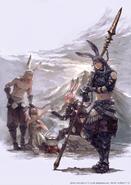 Male Viera group artwork