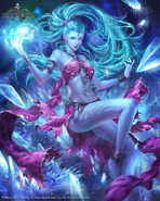 Mobius Shiva FF7 Artwork