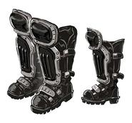 Protective Boots artwork for Final Fantasy VII Remake