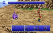 BLM using Poison from FFIII Pixel Remaster