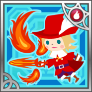 FFAB Enfire - Red Mage (M) R+