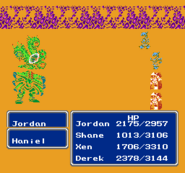 FFIII NES Critical Hit