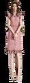 FFVIIR Aerith abito rosa chiaro