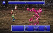 MAG using Drain from FFIII Pixel Remaster