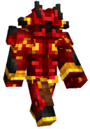 Minecraft FFXV Red Giant