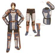 Scale Armor FFXI Art