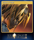 FFIX Steam Card Zidane Tribal
