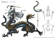 FFXIV Seiryu concept