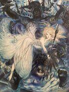 FFXV Royal Edition cover art Yoshitaka Amano