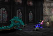 Blue Dragon uses Death from FFVIII Remastered