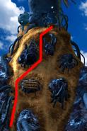 Condor War enemy path 6