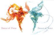 Dancers pompasancta