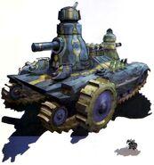 FFIV DS - dwarf tank