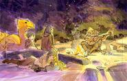 Final Fantasy Unlimited preliminary illustration 8