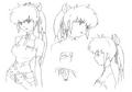 Lisa concept lines 2 for Final Fantasy Unlimited