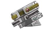Sorcerer's Armlet artwork for Final Fantasy VII Remake