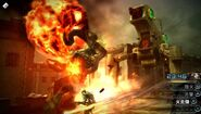 Type 0 Ifrit attacking a robot