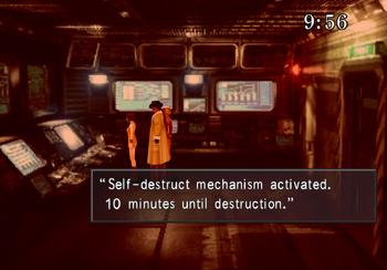 Self-destruct console