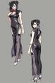 Tifa sporty dress from FFVII Remake concept art