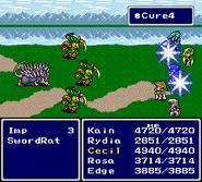 FFIV SNES Cure4