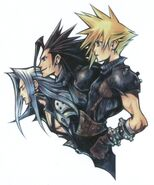 FFVII 10th Anniversary Artwork